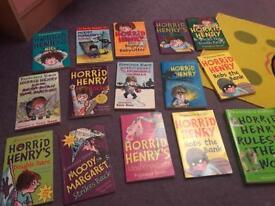 Children's books Horrid Henry