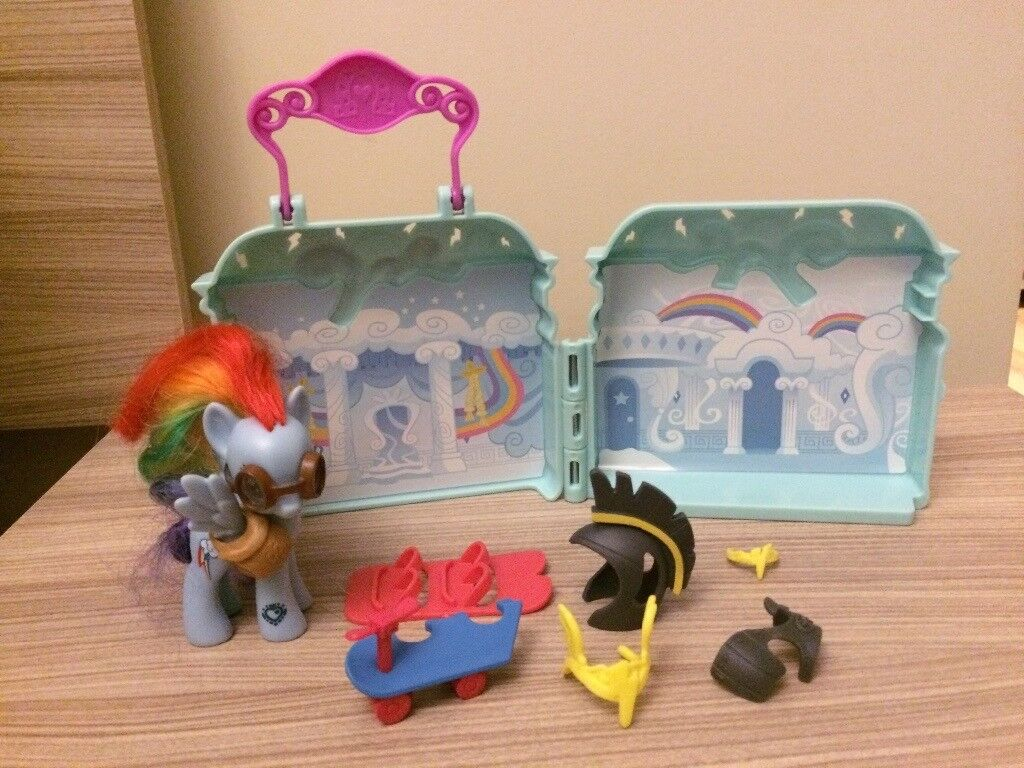 My Little Pony Rainbow Dash Carry And Play House In Chorley