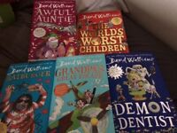 Set of Hardback David Walliams Books