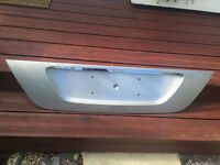 Mercedes 2002-2008 E Class 220 lower boot lid ornamental cover £30