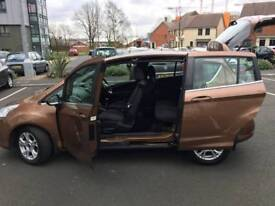 Ford B Max Zetec 2013 GOLD ECOnetic 5dr* 47k milleage * Full Service History