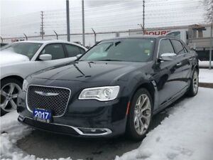 2017 Chrysler 300 C**PLATINUM**LEATHER**SUNROOF**NAVIGATION**