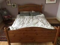 Ikea bed frame standard double