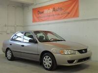2002 Toyota Corolla LE WINTER AND SUMMER TIRES! NO RUST!