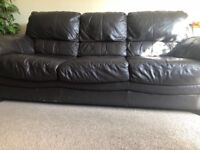FREE! Leather sofa, used