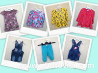 Girls size 2-3 years summer clothes bundle - 7 items