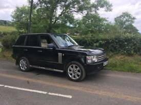 2003 RANGE ROVER TD6 VOUGE. MOTED TO JAN 2019