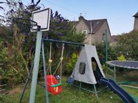 Chad Valley 2 in 1 Toddler and Kids Garden Swing -
