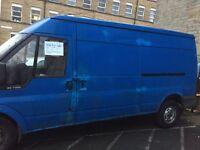 Ford blue Van