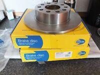 Brake Discs Rear NEW make Comline ADC 1457 AUDI SKODA SEAT VW £10
