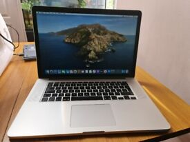 Apple MacBook Pro Retina 15 inch - Quad i7 - 16gb - 2015 - Low Use