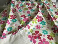 Curtains with lining for girls bedroom