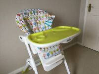 JOIE MIMZY HIGHCHAIR-BRAND NEW WITH LABELS AND HANDBOOK