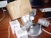Asber 3 Mini Ceiling Lights with BULBS