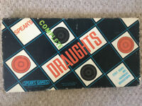 Vintage (1970s?) Spear's Draughts boxed set 1507. COMPLETE. Happy to post. £3.50 ovno.