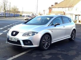2008 Seat Leon 2.0 Turbo TSI FR DSG Petrol Auto Paddle shift Cheap version Audi S3 - not Cupra