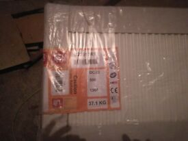 Two radiator for sale, 1X 500 X 1300. 1X 500 X 1000