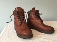 Brown Timberland boots size 4