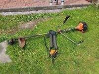 tanaka 500 heavy duty strimmer with sthil harness