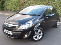 2012 VAUXHALL CORSA 1.2 SXI SPORTY LOW MILEAGE YEAR MOT GREAT CONDITION