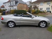 Mercedes CLK Convertible 2.6 Avant Garde - Automatic - may part exchange