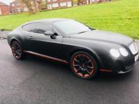 Bentley continental GT supersport 6.0 w12 550 bhp not rs6 rs5 Porsche m5 rs4 Range Rover sport vouge