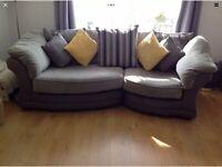 Handmade sofa and chair