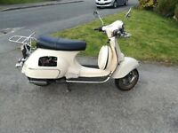 Neco Abruzzi 50cc Scooter Moped, no MOT, starts with both electric and kick start, SORN