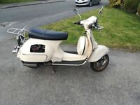 Neck Abruzzi 50cc Scooter Moped, no MOT, starts with both electric and kick start, SORN