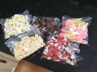 Selection of sweets ideal for party bags/Halloween treats