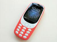 Nokia 3310 Mobile Phone - Orange - Boxed - Unlocked