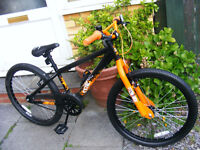 """JUMP BIKE 24"""" WHEEL IN GREAT WORKING ORDER HARDLY USED AGE 7+"""