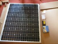 LOOK 2 NEW SOLAR PANELS NEVER BEEN USED