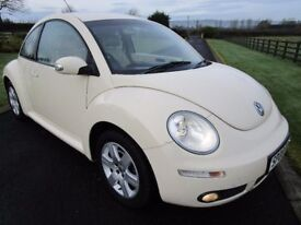 2008 VOLKSWAGEN BEETLE 1.6 LUNA ### FULL CREAM LEATHER UPHOLSTERY ###