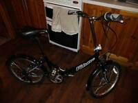 Falcon Folding Bike like new + Free helmet pump lock tool kit