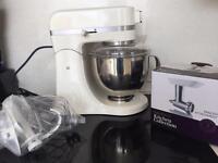 Sainsburys kitchen collection kitchen machine die cast and brand new mincer attachment