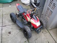 KIDS QUAD NEEDS REPAIR PULL STAR ASSEMBLY HAS A SPARK