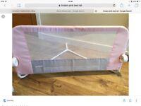 BED RAIL GUARD- USED TWICE
