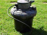 Hoselock 3000 UVC Bioforce Pond Filtration system