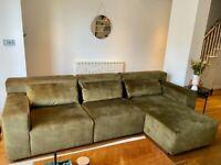 "Modular / L-shaped Sofa - Lombok ""Mikado"""