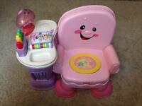 Fisher Price sit and read toy