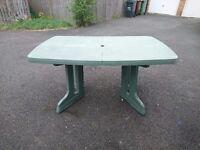 Garden Folding Table