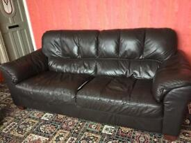 3 and 2 seater settees. Sofas.