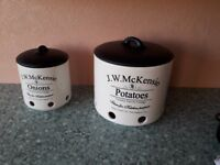 Kitchen storage Pots