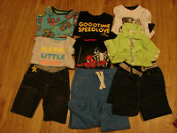 Bundle of boy's clothes 3-4 year old in excellent condition
