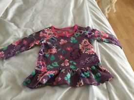 Brand new Joules baby girls top