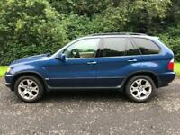 2001 BMW X5 4.4i 282BHP V8, 5 Door, Petrol, Manual, MOT 11 Months, 67,000 miles 6 stamps in service
