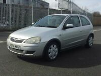2005 vauxhall corsa design superb little car very clean