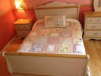 Courtepointe (Patchwork) pour fille lit double ou queen