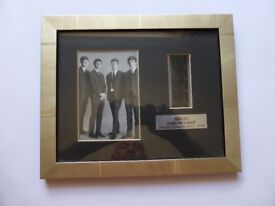 "BEATLES - ""Hard Days Night"" - Framed Photo & Original Film"